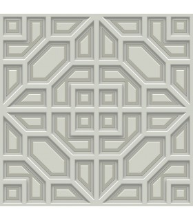 DI4704 - Dimensional Artistry Wallpaper by York-Asian Lattice
