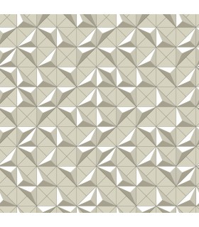 DI4722 - Dimensional Artistry Wallpaper by York-Puzzle Box