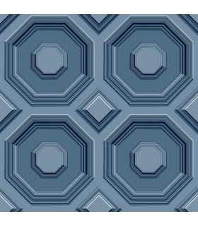 DI4744 - Dimensional Artistry Wallpaper by York-Coffered Octagon