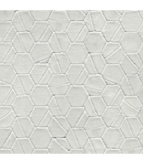 DI4776 - Dimensional Artistry Wallpaper by York-Tiled Hexagon