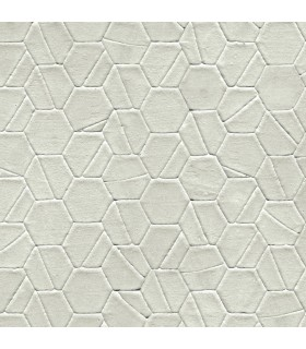 DI4777 - Dimensional Artistry Wallpaper by York-Tiled Hexagon