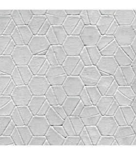 DI4778 - Dimensional Artistry Wallpaper by York-Tiled Hexagon
