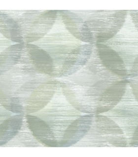 2793-24700 - Celadon Wallpaper by A-Street Prints-Alchemy Geometric