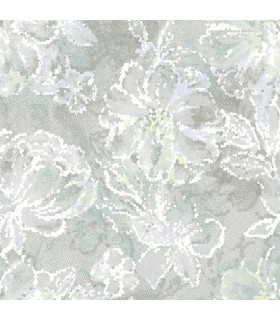 2793-24708 - Celadon Wallpaper by A-Street Prints-Allure Floral