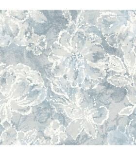 2793-24706 - Celadon Wallpaper by A-Street Prints-Allure Floral