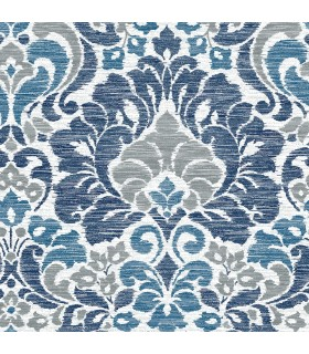 2793-24731 - Celadon Wallpaper by A-Street Prints-Garden of Eden Damask