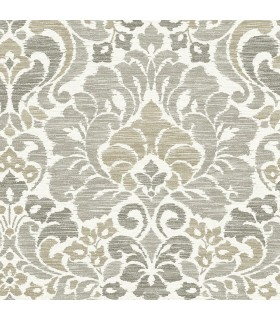 2793-24735 - Celadon Wallpaper by A-Street Prints-Garden of Eden Damask