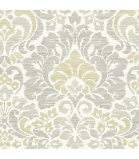 2793-24732 - Celadon Wallpaper by A-Street Prints-Garden of Eden Damask