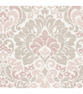 2793-24734 - Celadon Wallpaper by A-Street Prints-Garden of Eden Damask