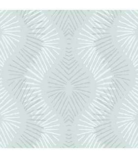 2793-87324 - Celadon Wallpaper by A-Street Prints-Feliz Beaded Ogee