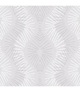 2793-87327 - Celadon Wallpaper by A-Street Prints-Feliz Beaded Ogee
