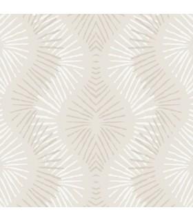 2793-87326 - Celadon Wallpaper by A-Street Prints-Feliz Beaded Ogee