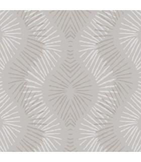 2793-87325 - Celadon Wallpaper by A-Street Prints-Feliz Beaded Ogee