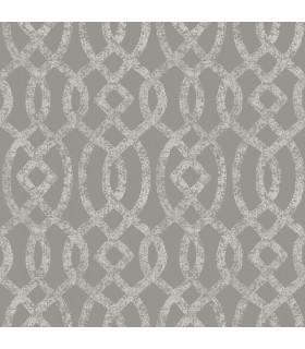 2793-24725 - Celadon Wallpaper by A-Street Prints-Ethereal Trellis