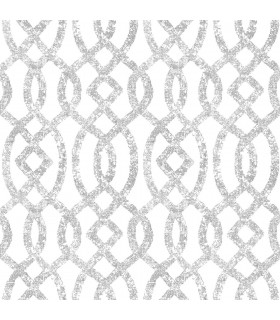 2793-24722 - Celadon Wallpaper by A-Street Prints-Ethereal Trellis