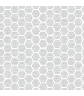 2793-24712 - Celadon Wallpaper by A-Street Prints-Aura Honeycomb