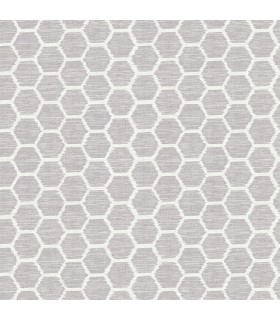 2793-24711 - Celadon Wallpaper by A-Street Prints-Aura Honeycomb