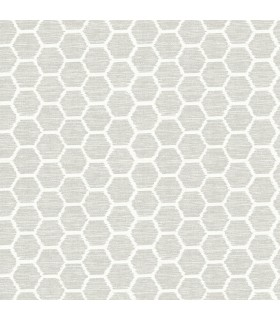 2793-24713 - Celadon Wallpaper by A-Street Prints-Aura Honeycomb