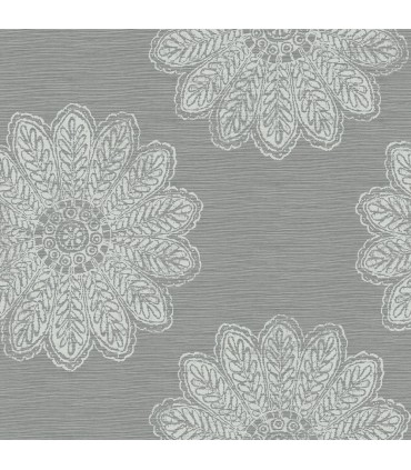 2793-24746 - Celadon Wallpaper by A-Street Prints-Sol Medallion