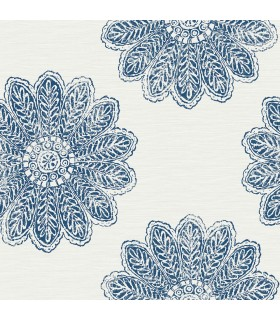 2793-24744 - Celadon Wallpaper by A-Street Prints-Sol Medallion