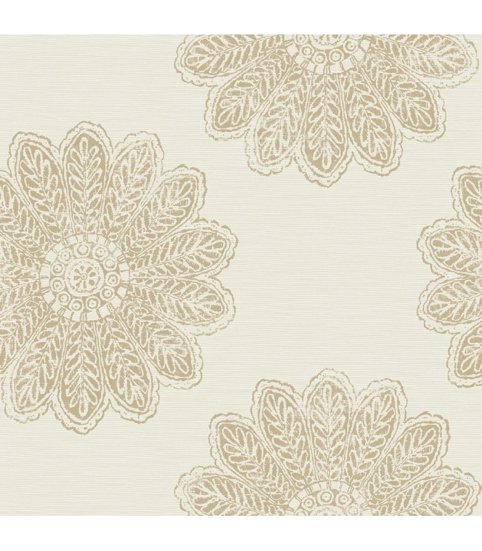 2793-24745 - Celadon Wallpaper by A-Street Prints-Sol Medallion