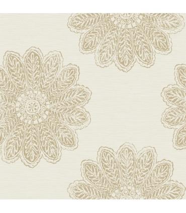 2793-24745 - Celadon Wallpaper by A-Street Prints-Sol Medallion