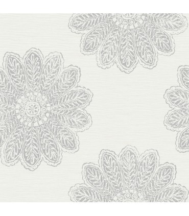 2793-24747 - Celadon Wallpaper by A-Street Prints-Sol Medallion