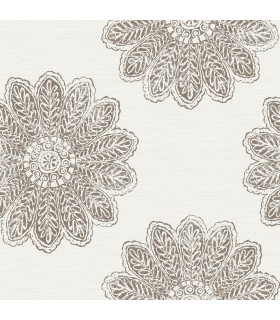 2793-24748 - Celadon Wallpaper by A-Street Prints-Sol Medallion