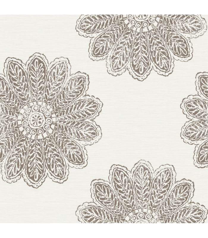 2793-24748 - Celadon Wallpaper by A-Street Prints-Sol Medallion