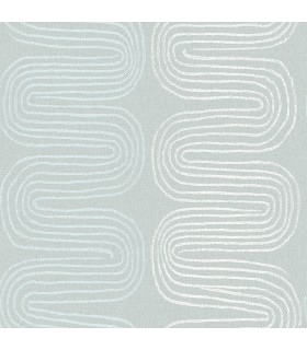 2793-24743 - Celadon Wallpaper by A-Street Prints-Zephyr Abstract Stripe