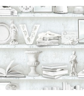 FH37506 - Farmhouse Living Wallpaper by Norwall - Curio Cabinet