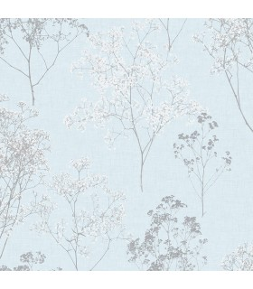 FH37510 - Farmhouse Living Wallpaper by Norwall -Queen Anne's Lace