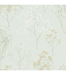 FH37511 - Farmhouse Living Wallpaper by Norwall -Queen Anne's Lace