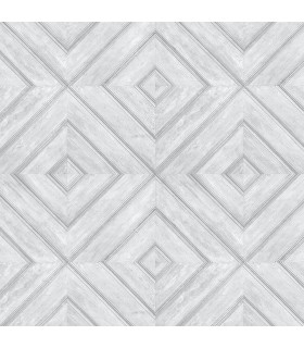 FH37513 - Farmhouse Living Wallpaper by Norwall -Wood Tile