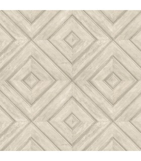 FH37514 - Farmhouse Living Wallpaper by Norwall -Wood Tile