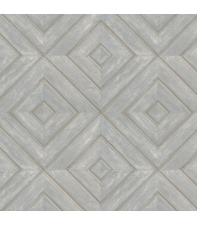 FH37515 - Farmhouse Living Wallpaper by Norwall -Wood Tile