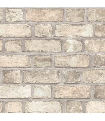 FH37516 - Farmhouse Living Wallpaper by Norwall -Farmhouse Brick