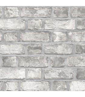 FH37517 - Farmhouse Living Wallpaper by Norwall -Farmhouse Brick