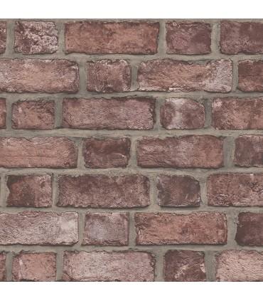 FH37518 - Farmhouse Living Wallpaper by Norwall -Farmhouse Brick