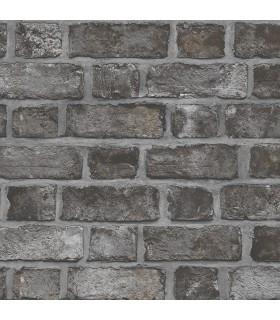 FH37519 - Farmhouse Living Wallpaper by Norwall -Farmhouse Brick
