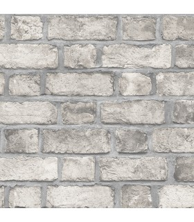 FH37520 - Farmhouse Living Wallpaper by Norwall -Farmhouse Brick