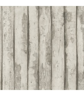 FH37533 - Farmhouse Living Wallpaper by Norwall -Log Cabin