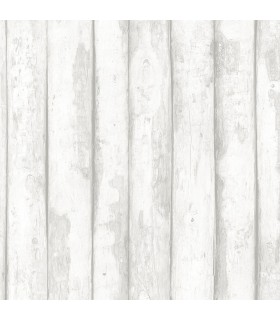 FH37534 - Farmhouse Living Wallpaper by Norwall -Log Cabin