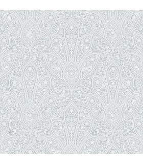 FH37545 - Farmhouse Living Wallpaper by Norwall -Distressed Paisley