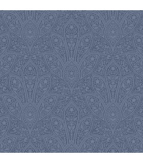 FH37546 - Farmhouse Living Wallpaper by Norwall -Distressed Paisley