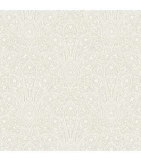 FH37547 - Farmhouse Living Wallpaper by Norwall -Distressed Paisley