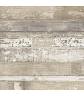 FH37556 - Farmhouse Living Wallpaper by Norwall -Beachwood