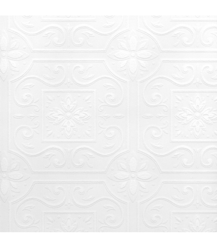 2780-59001 - Paintable Solutions 5 Wallpaper by Brewster -Ibold Tile
