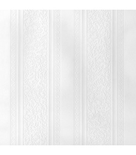 2780-59003 - Paintable Solutions 5 Wallpaper by Brewster Kannberg Stripe Texture