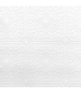 2780-96291 - Paintable Solutions 5 Wallpaper by Brewster -Nico Tile